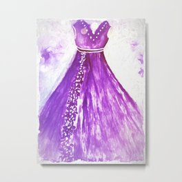 Dress Designed For The Southern Belle Metal Print