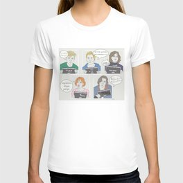 The Breakfast Club Quotes T-shirt