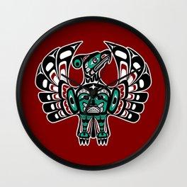 Northwest Pacific coast Haida art Thunderbird Wall Clock