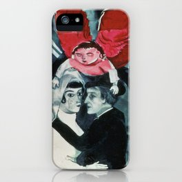 Marc Chagall The Wedding iPhone Case