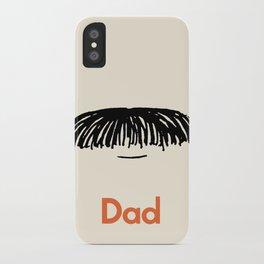 Dad Moustache iPhone Case