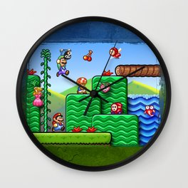 Super Mario 2 Wall Clock