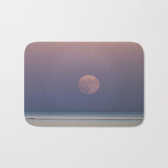 Sunset Moonrise Bath Mat