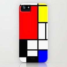 Mondrian Art iPhone SE Slim Case