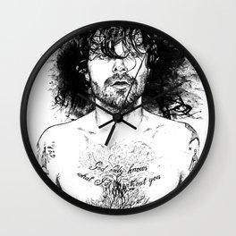 Biffy Clyro - Pen & Ink Series Wall Clock