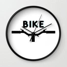 Bike! Bike Design for the Bike Lovers by Christie Olstad Wall Clock