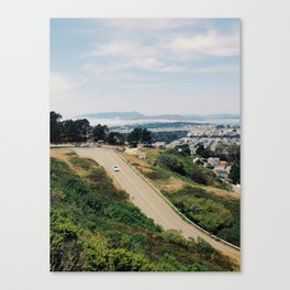 Twin Peaks Blvd Canvas Print