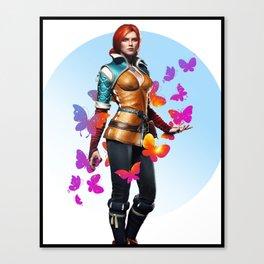 Triss Merigold Canvas Print