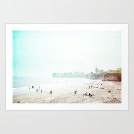 Sunday Morning Surf Art Print