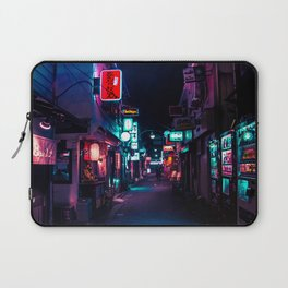 Late Night in Shinjuku's Golden Gai Laptop Sleeve