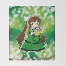 Chibi Suiseiseki Throw Blanket