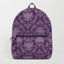 Grape Damask Backpack