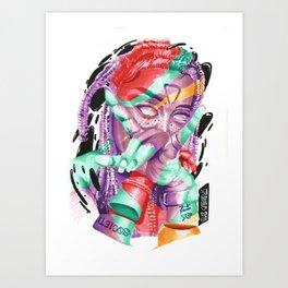 QVEEN Art Print