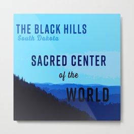 Black Hills South Dakota Metal Print