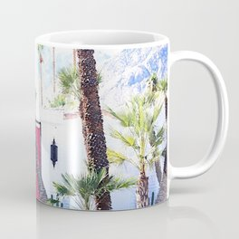 That New Pink Door Palm Springs Coffee Mug