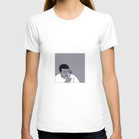 ali T-shirts featuring Ali by Cyrille Savelieff