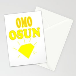 Omo Osun Stationery Cards