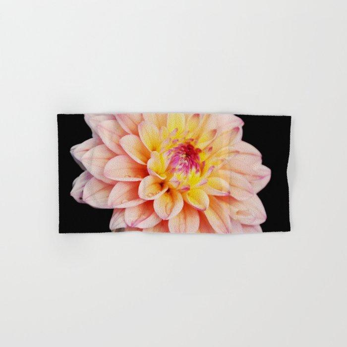 Light Pink Dahlia #2 Hand & Bath Towel
