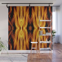 Flame Pattern Fire Astract Wall Mural