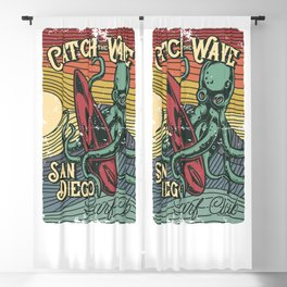 Catch the Wave Blackout Curtain