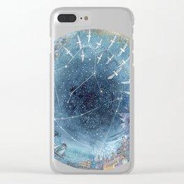 Capricorn & Aquarius friendship Clear iPhone Case