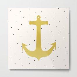 Anchor Poua Metal Print
