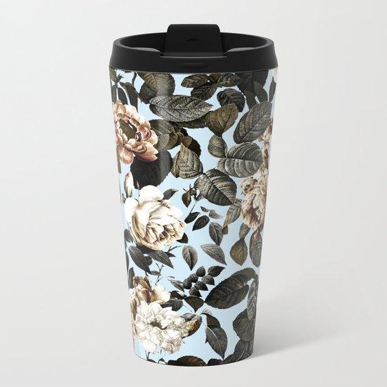 Summer Botanical Garden IV Metal Travel Mug