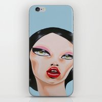 minnie iPhone & iPod Skins featuring MINNIE by Zelda Bomba