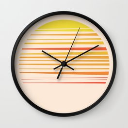all summer long Wall Clock