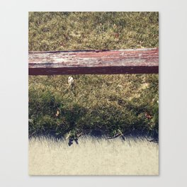 Ground // Grass // Grain Canvas Print