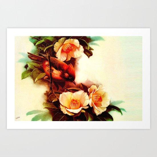 Hanging Tough Art Print