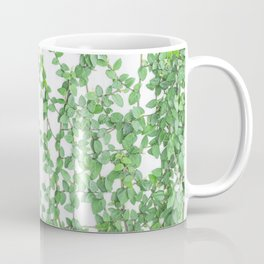 Green creepers climbing the wall Coffee Mug