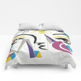 Abstract Portrait - 1 Comforters