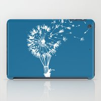 wind iPad Cases featuring Going where the wind blows by Picomodi