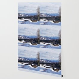 Gaspesie in Winter Wallpaper