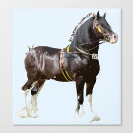 THE ORIGINAL WORK HORSE! Canvas Print