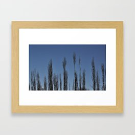 Moon set Framed Art Print