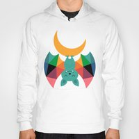 child Hoodies featuring Moon Child by Andy Westface