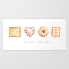 Cookies & Biscuits  Art Print