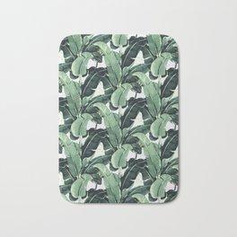 Tropical Banana Leaf Bath Mat