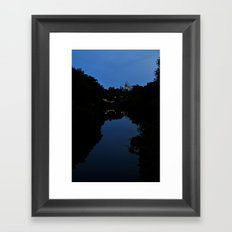 Expedition Everest (Night Time) Framed Art Print
