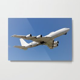 US Navy Boeing E-6 Mercury Takeoff Metal Print