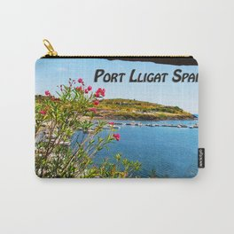 Window View of Port Lligat Spain Carry-All Pouch