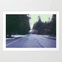 Mountain Rainier  Art Print