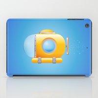 submarine iPad Cases featuring submarine by JuliaTara