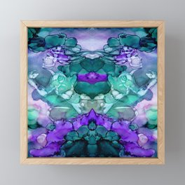 Run Mirror Image Framed Mini Art Print