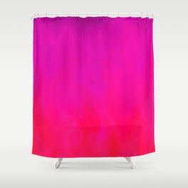 Fuchsia Fire Magenta Violet Ombre Shower Curtain