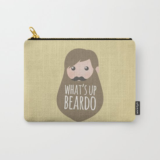 What's up beardo Carry-All Pouch