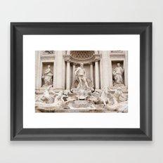 Trevi Fountain II Framed Art Print