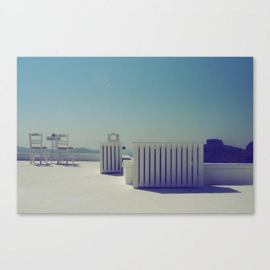 Turquoise Gazing  Canvas Print